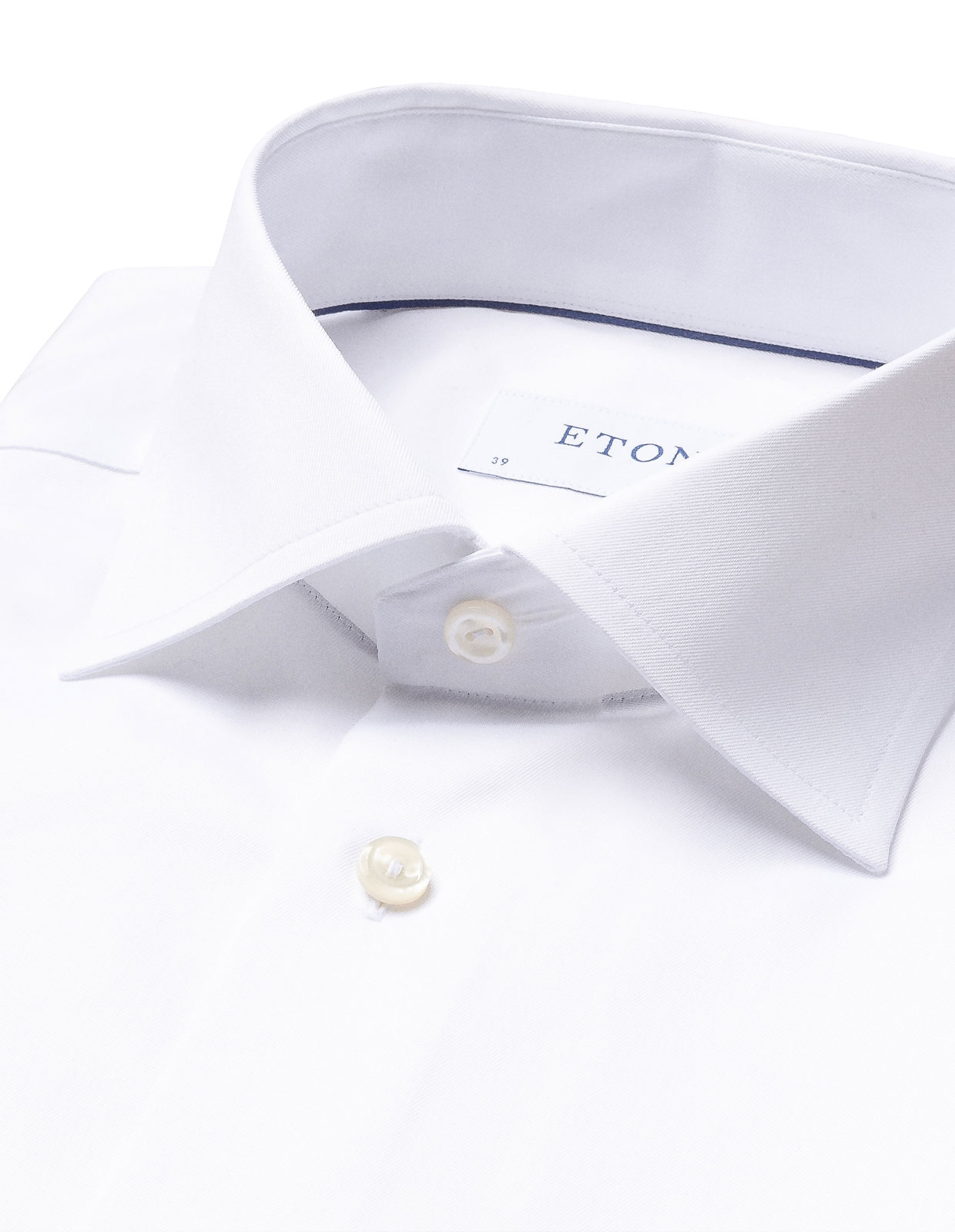 Slim Fit Signature Twill Shirt White