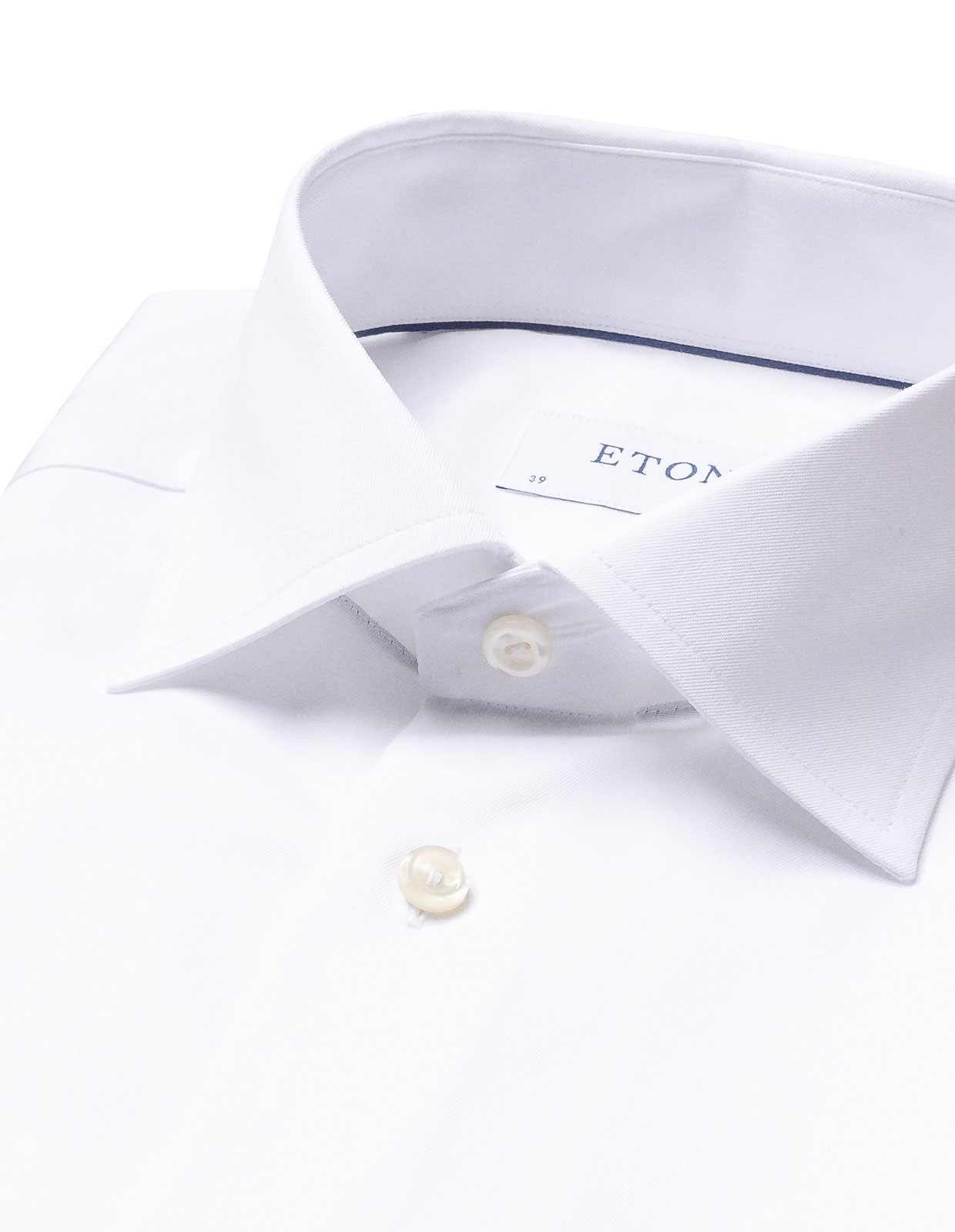 Contemporary Fit Signature Twill Shirt Vit