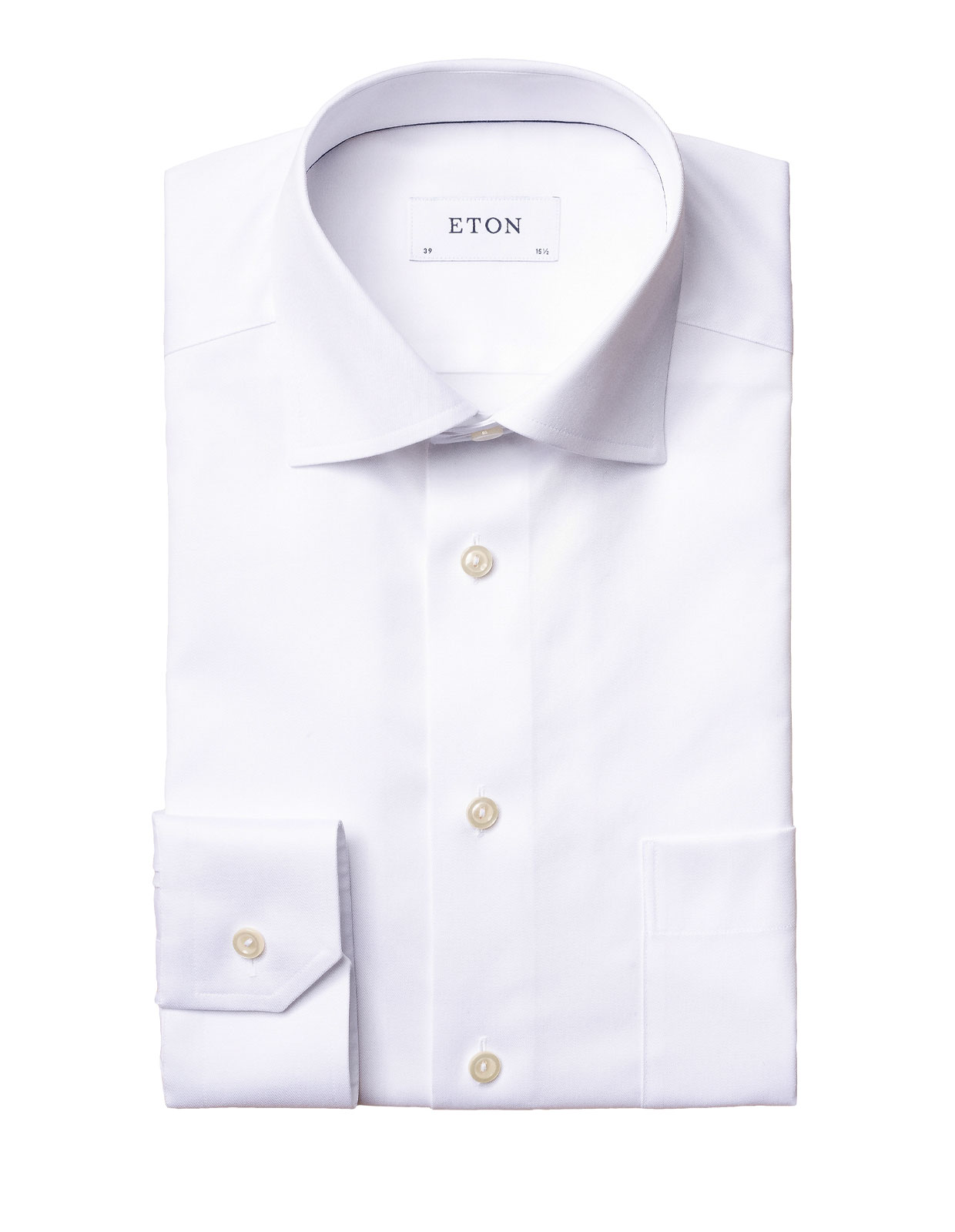 Classic Fit Signature Twill Shirt White