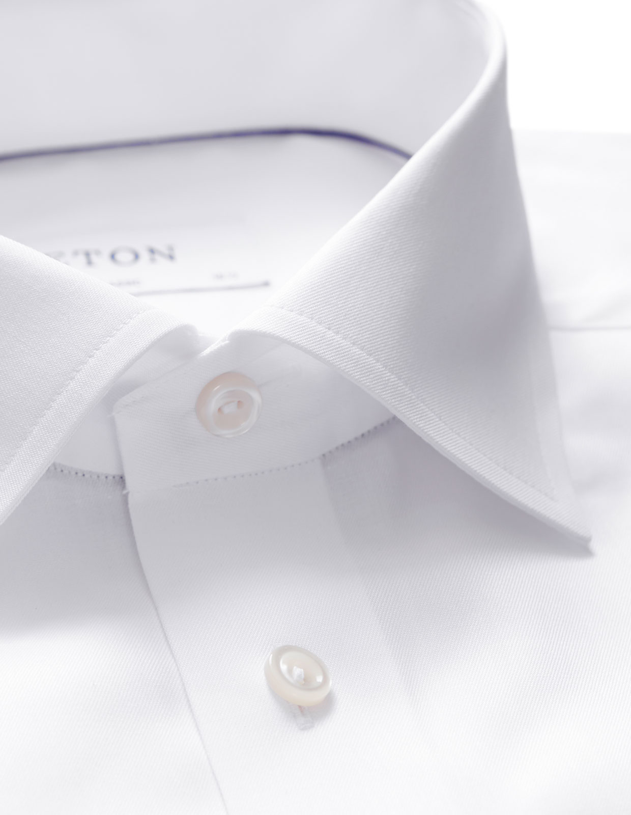 Classic Fit Signature Twill Shirt Vit