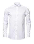 Super Slim Fit Twill Shirt White Stl 41