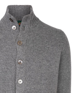Landford Full Button Cardigan GreyMix