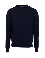 Crew Neck Cashmere Dark Navy
