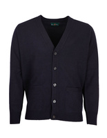Cornwall Vee Neck Cardigan Navy