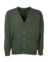 Cornwall Vee Neck Cardigan Rosemary