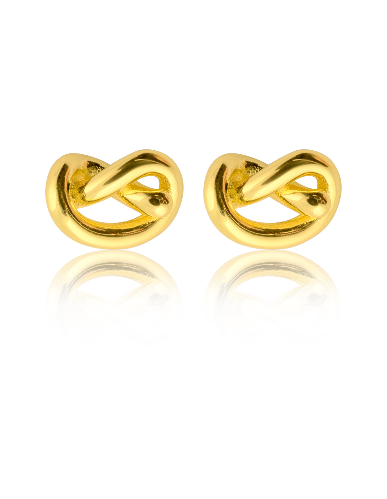 Knot Studs GOLD