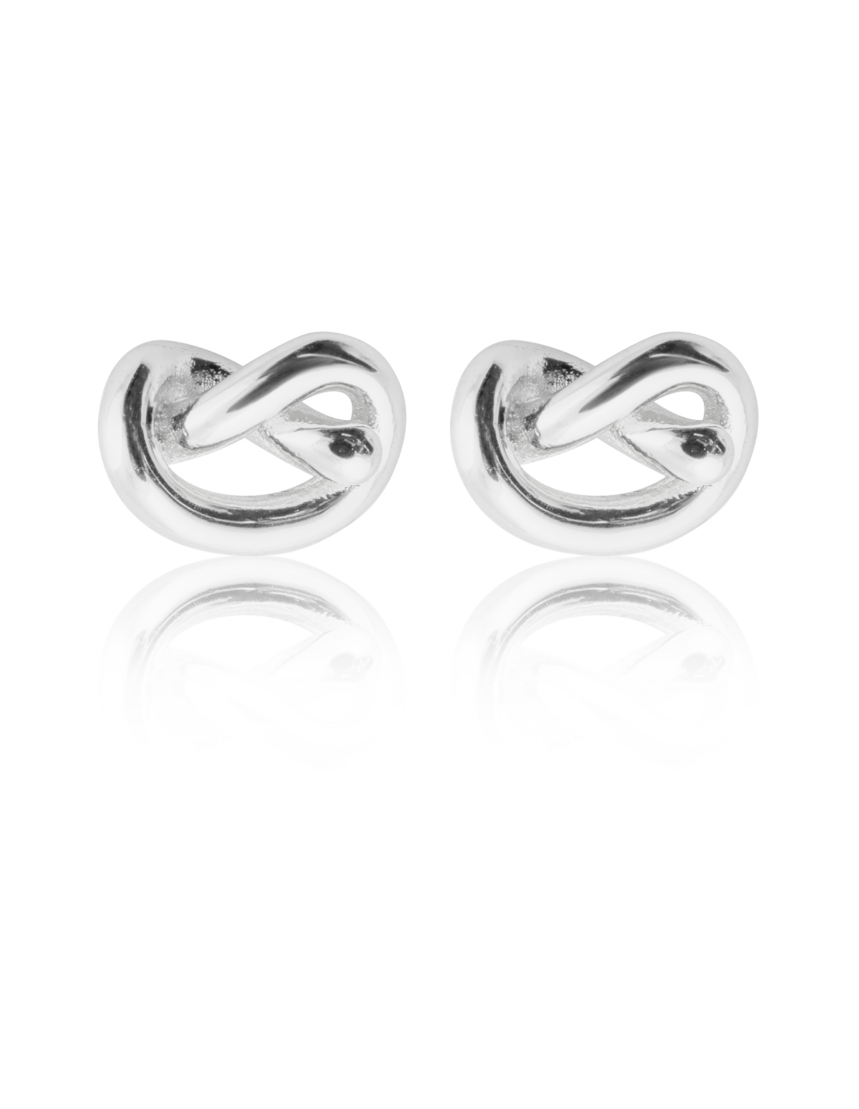 Knot Studs SILVER