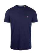 Luxury Pima Cotton Crew Neck Tee FrenchNavy