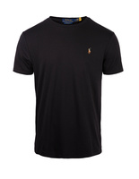 Luxury Pima Cotton Crew Neck T PoloBlack