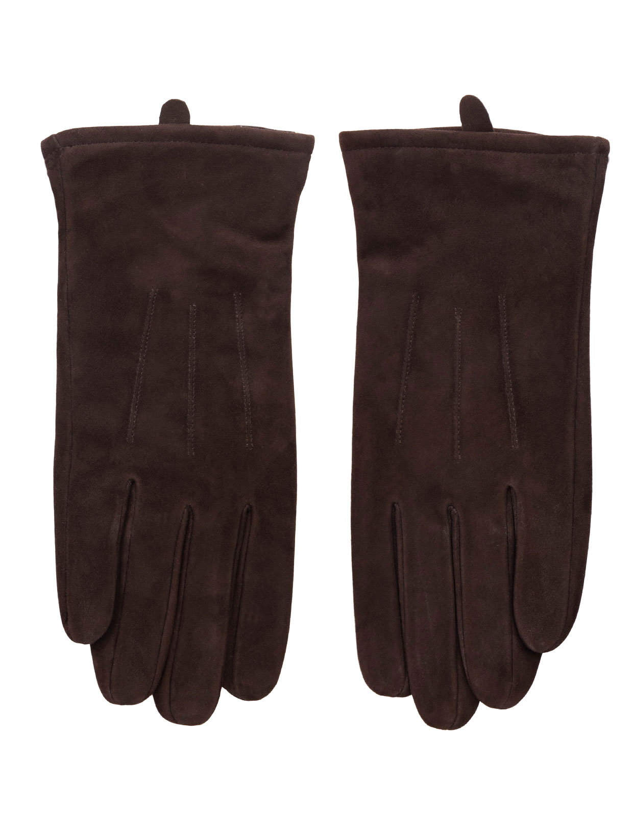 Goatsuede Gloves Dark Brown