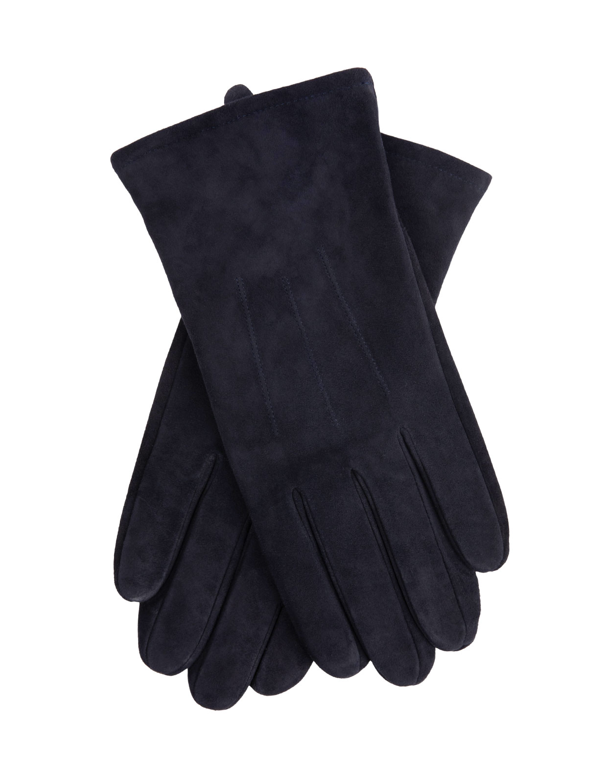 Goatsuede Gloves Navy Stl 8.5