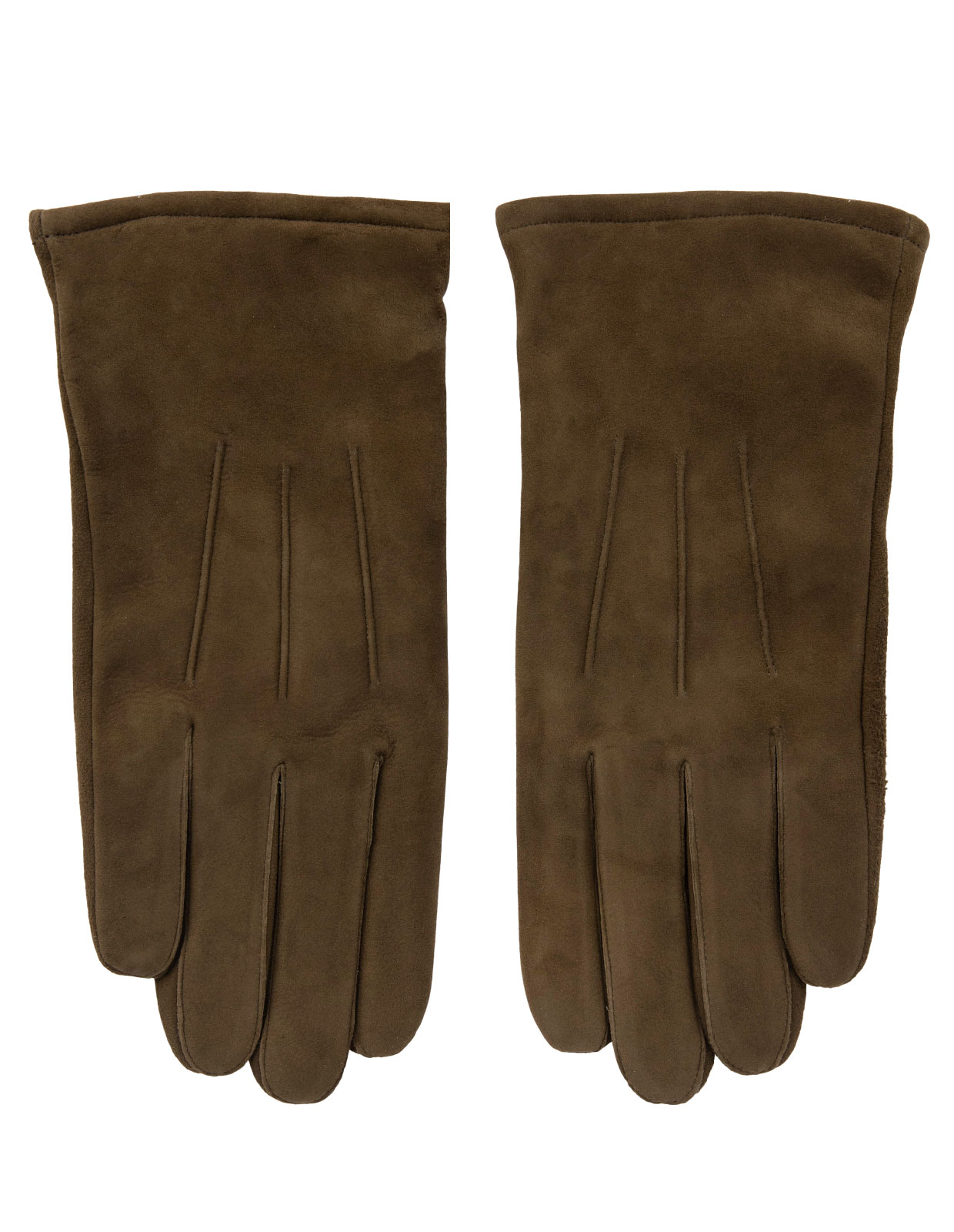 Goatsuede Gloves Olive Green Stl 9