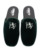 Slip-in Slipper Velvet Racing Green Stl 46