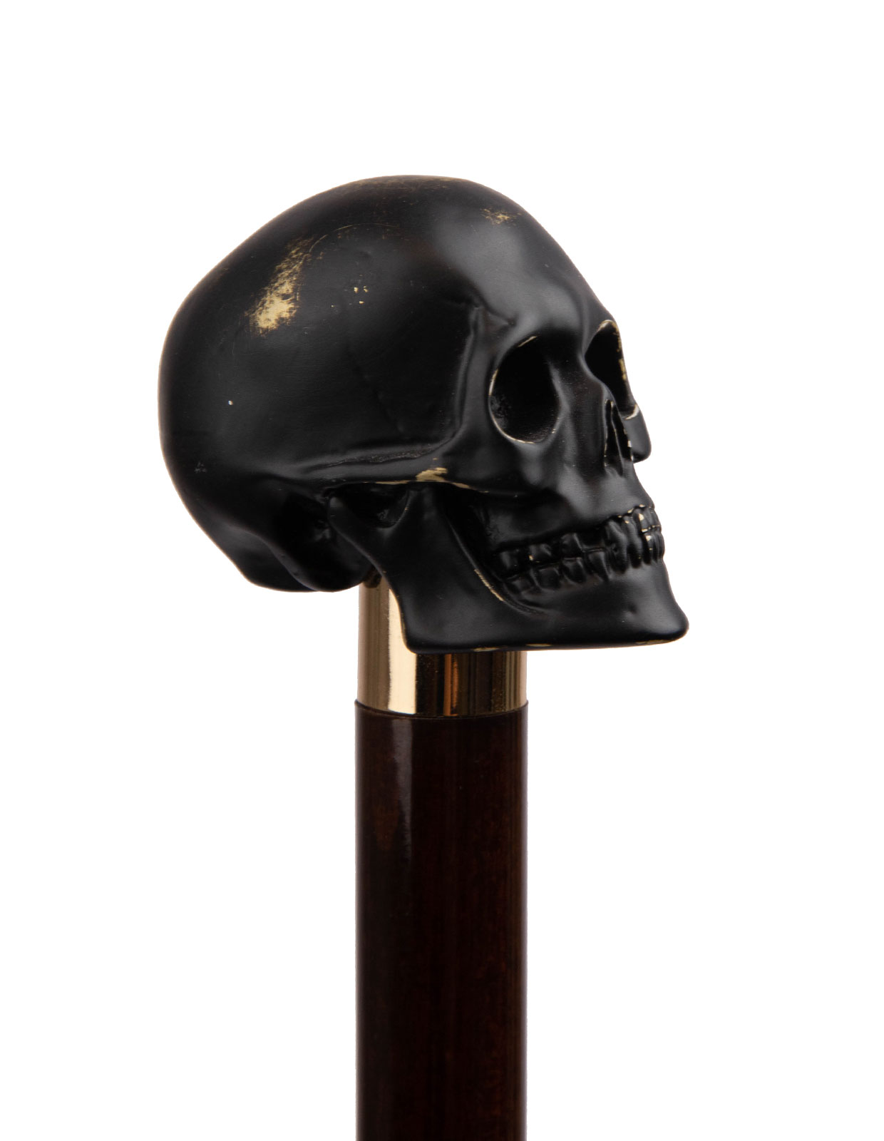 Shoehorn Rock & Roll Skull Brown/Gold Stl