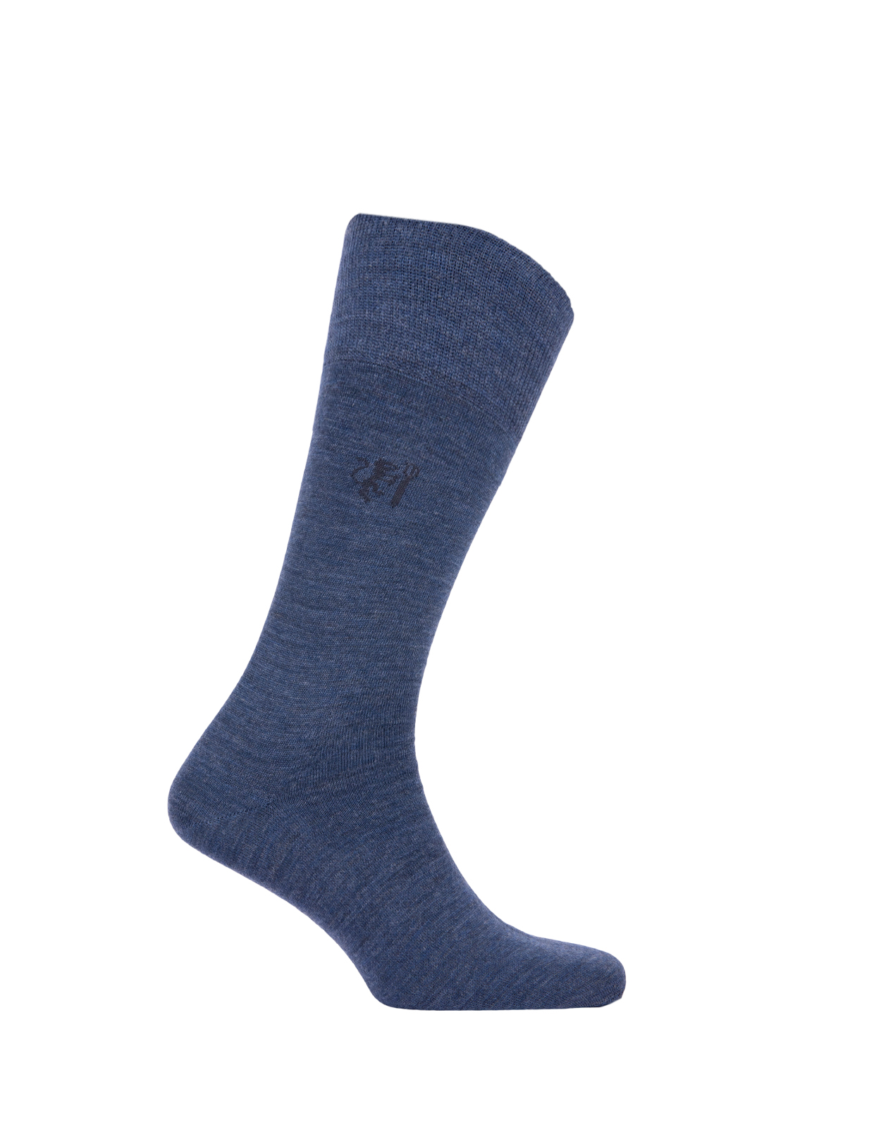 Socks Wool Blend Denim