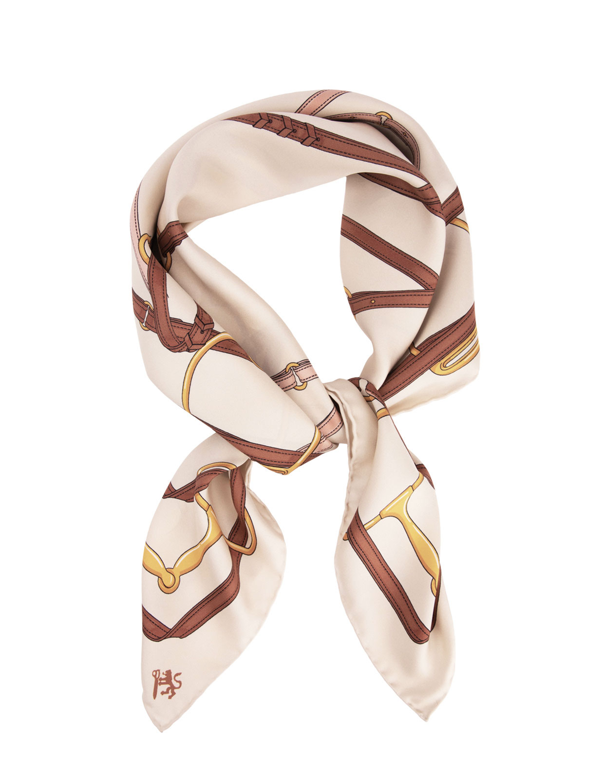 Scarves Chain Creme