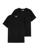 T-Shirt Crew Neck 2 pack Black