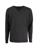 Kilsyth Vee Neck Charcoal