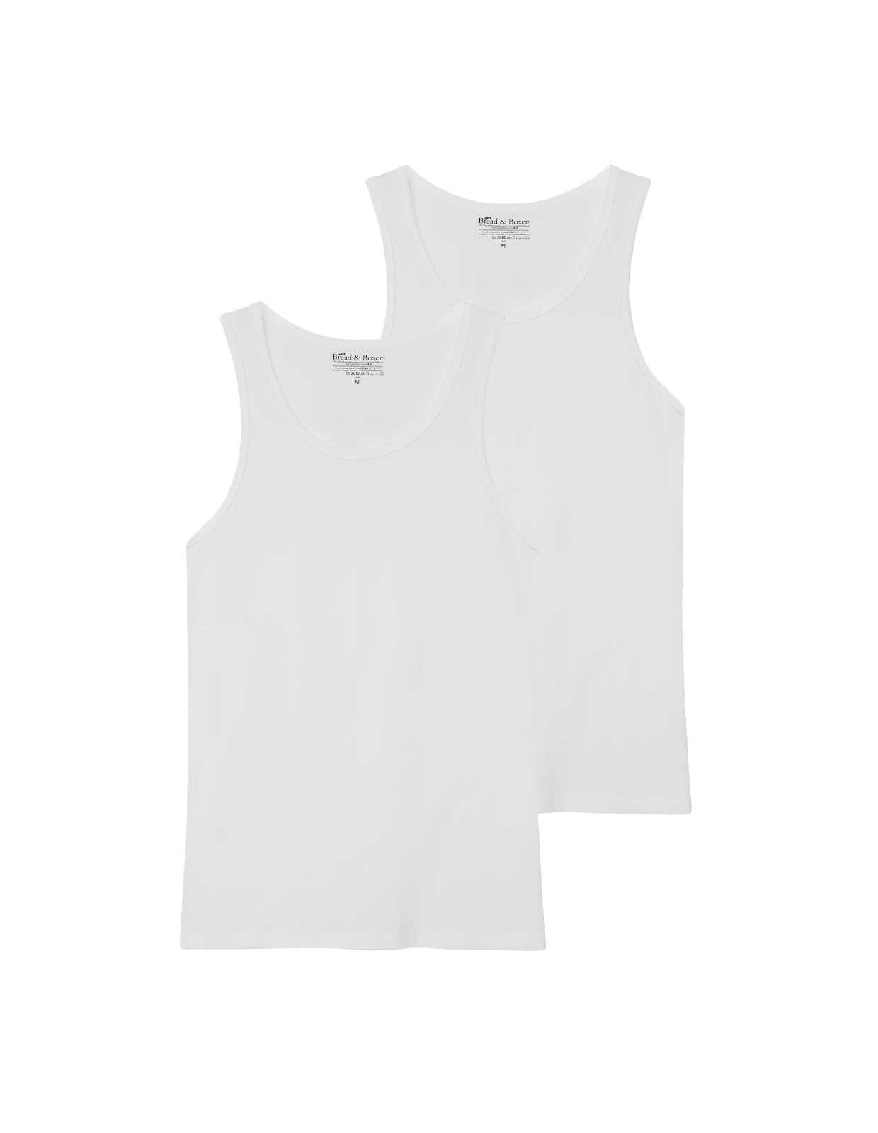 Tank Top 2-pack White Stl XXL