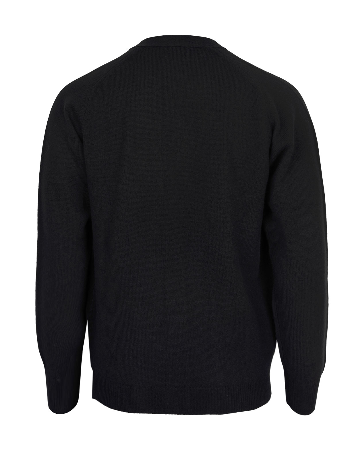 Cornwall Vee Neck Cardigan Black