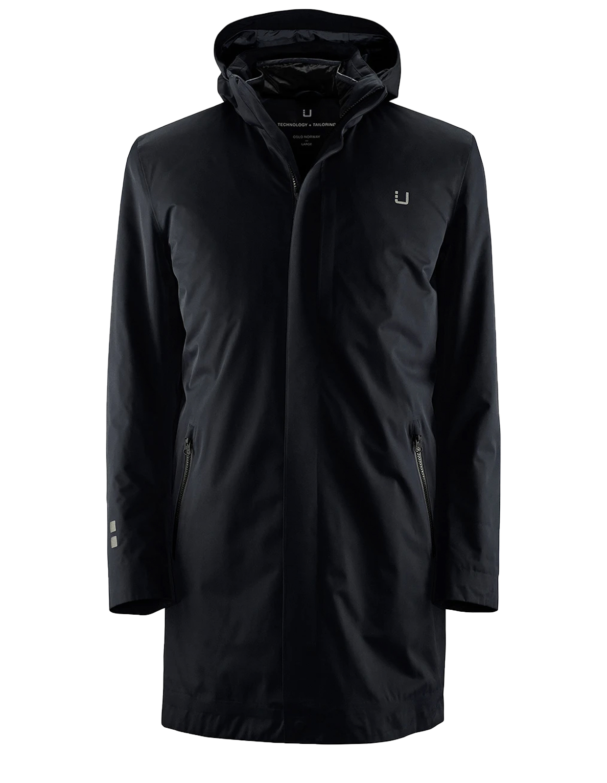 Black Storm Coat II Black Stl L