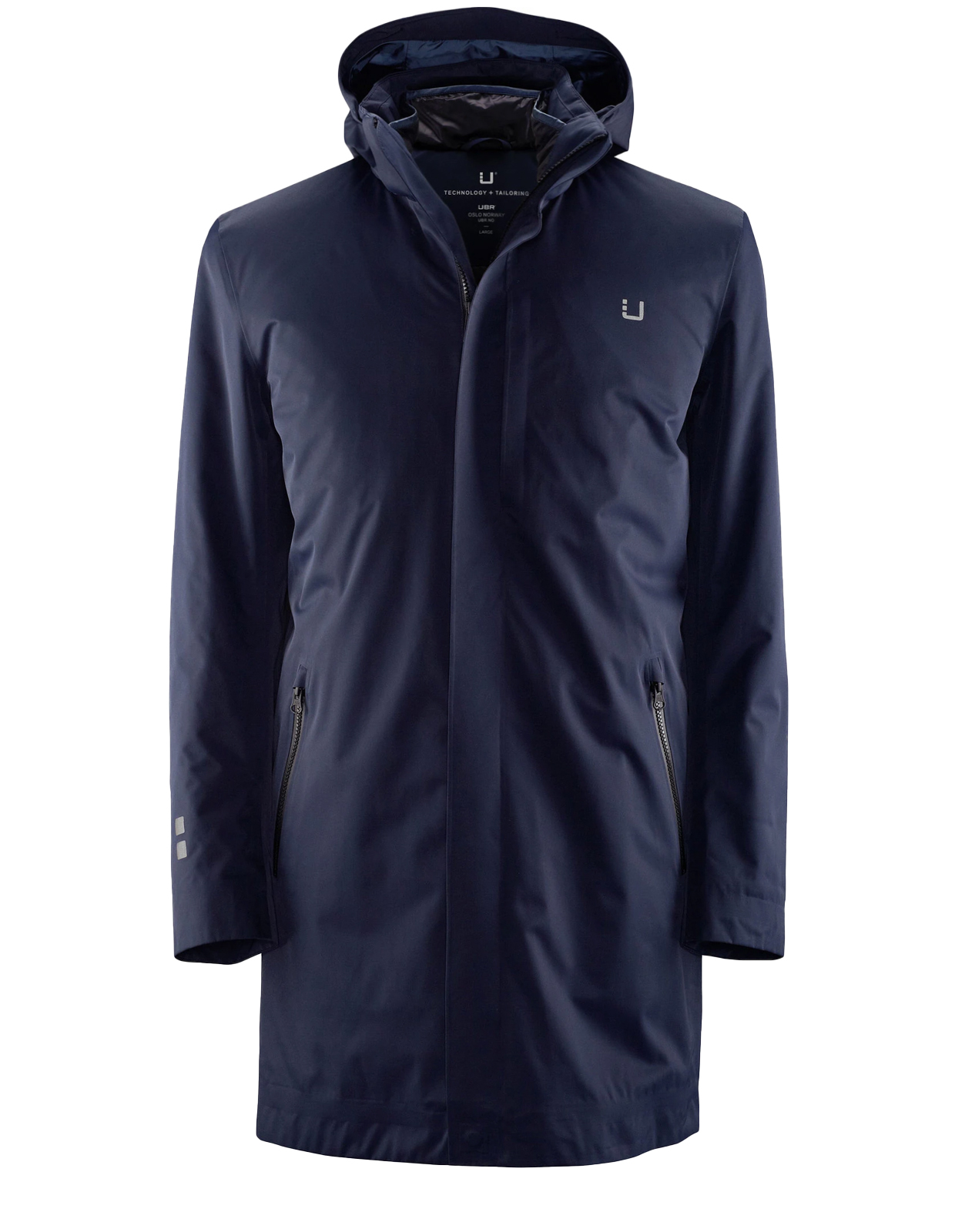 Black Storm Coat II Navy Stl XL