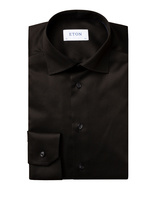 Slim Fit Signature Twill Shirt Svart