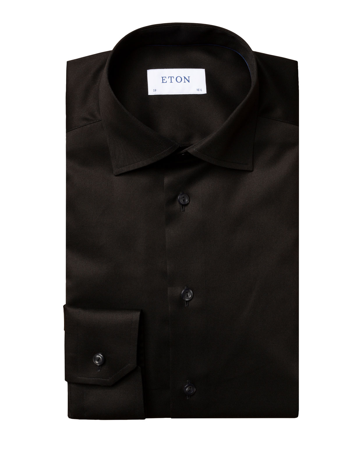 Contemporary Fit Signature Twill Shirt Black