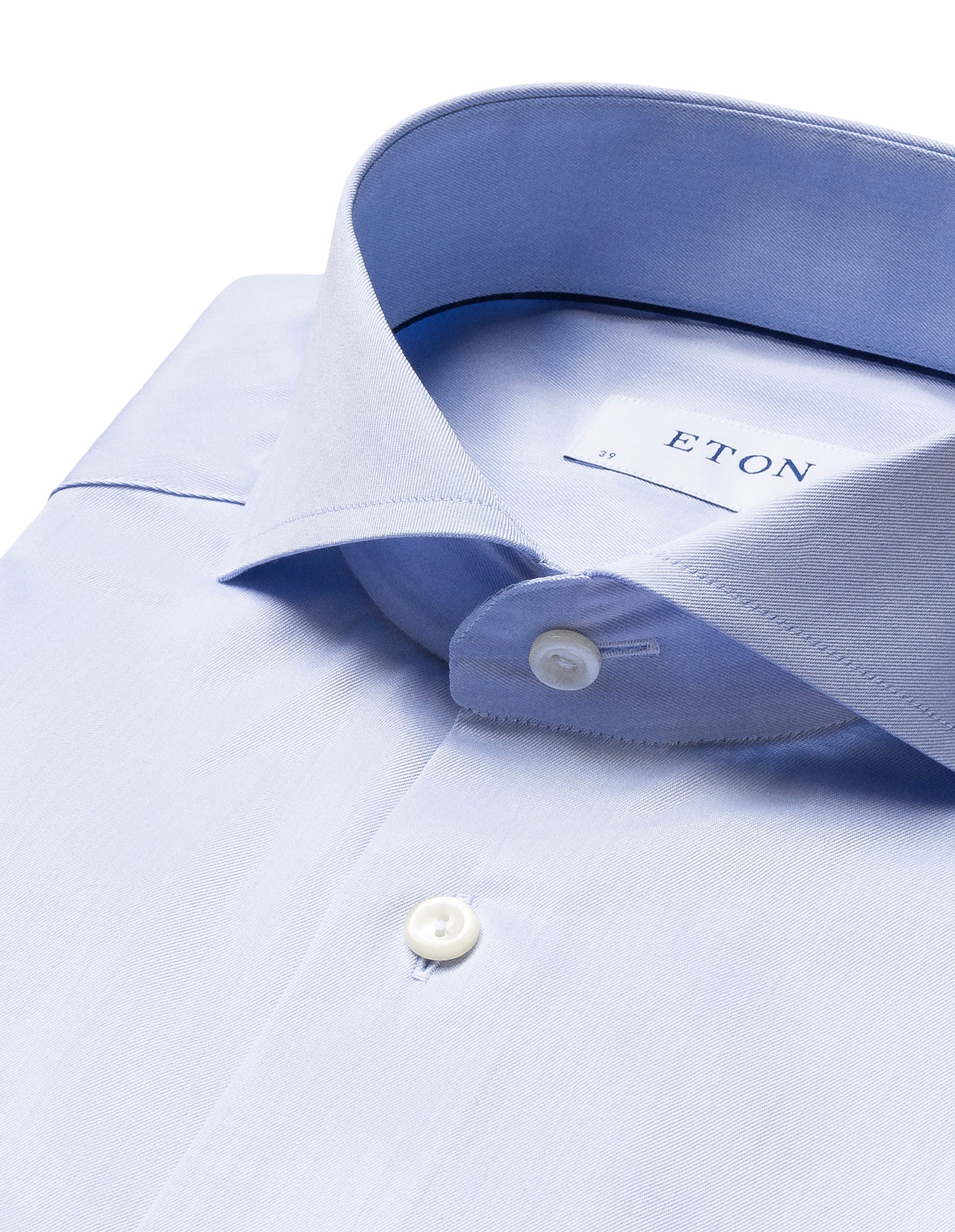 Super Slim Fit Twill Shirt Light Blue Stl 41