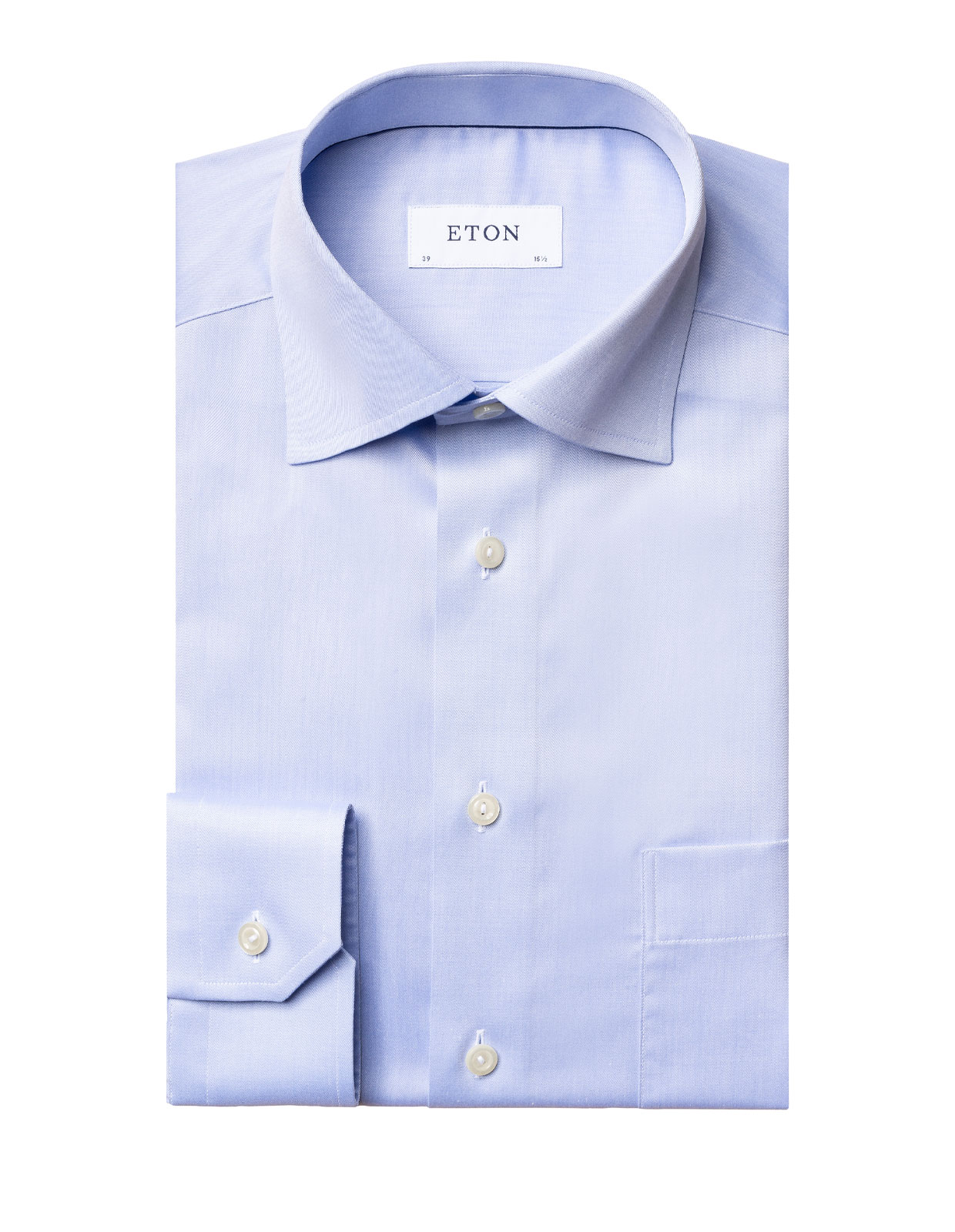 Classic Fit Signature Twill Shirt Ljusblå