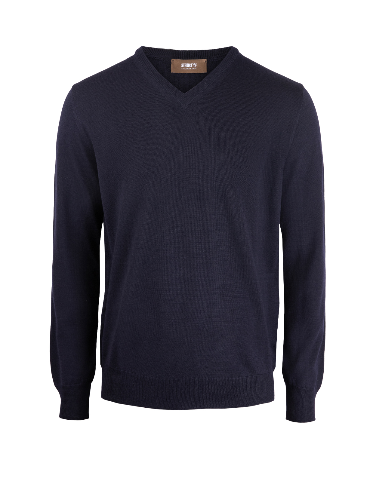 V-Neck Merino Navy
