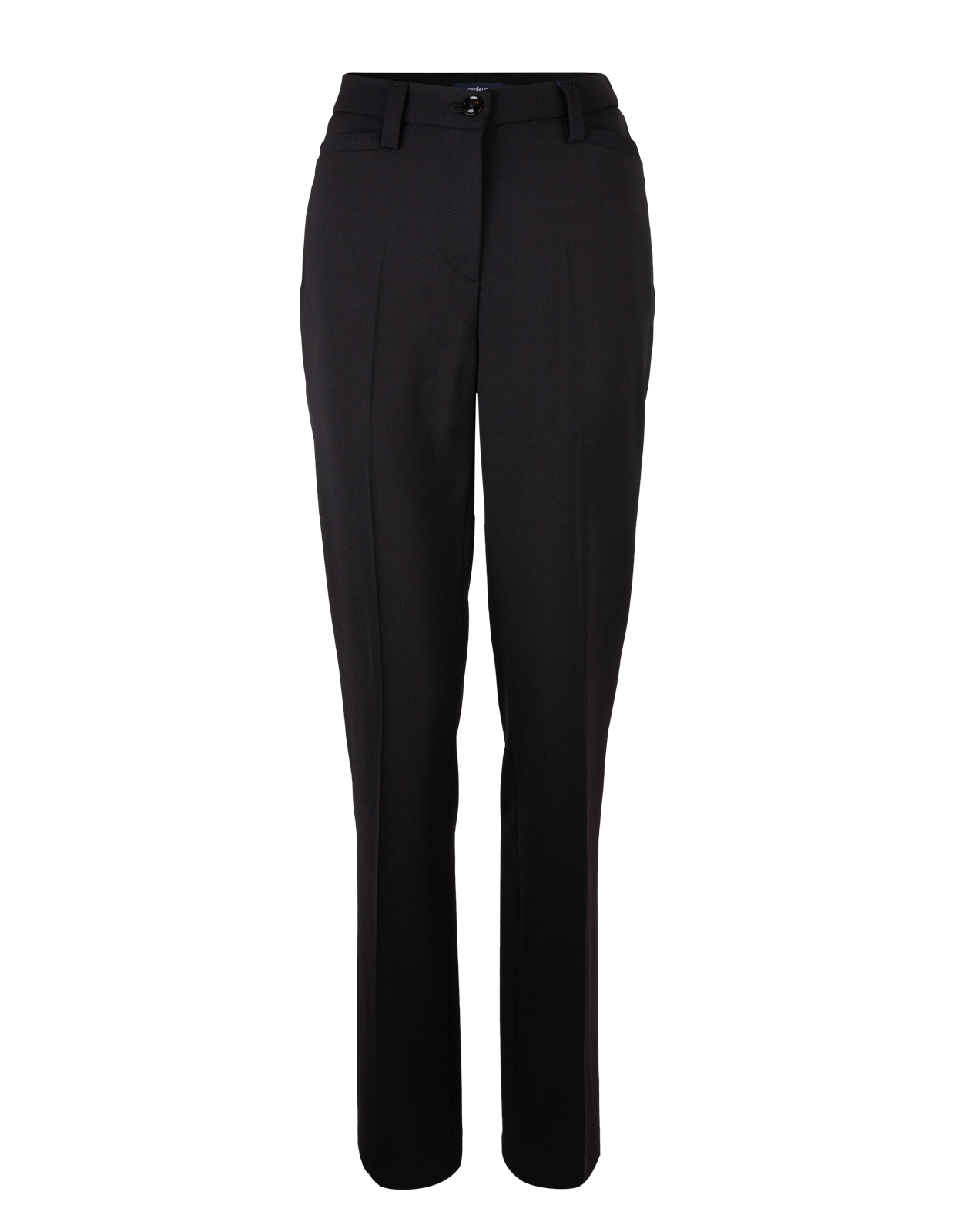 Kayla Wool Pants Black