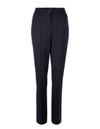 Kayla Wool Pants Navy Stl 44