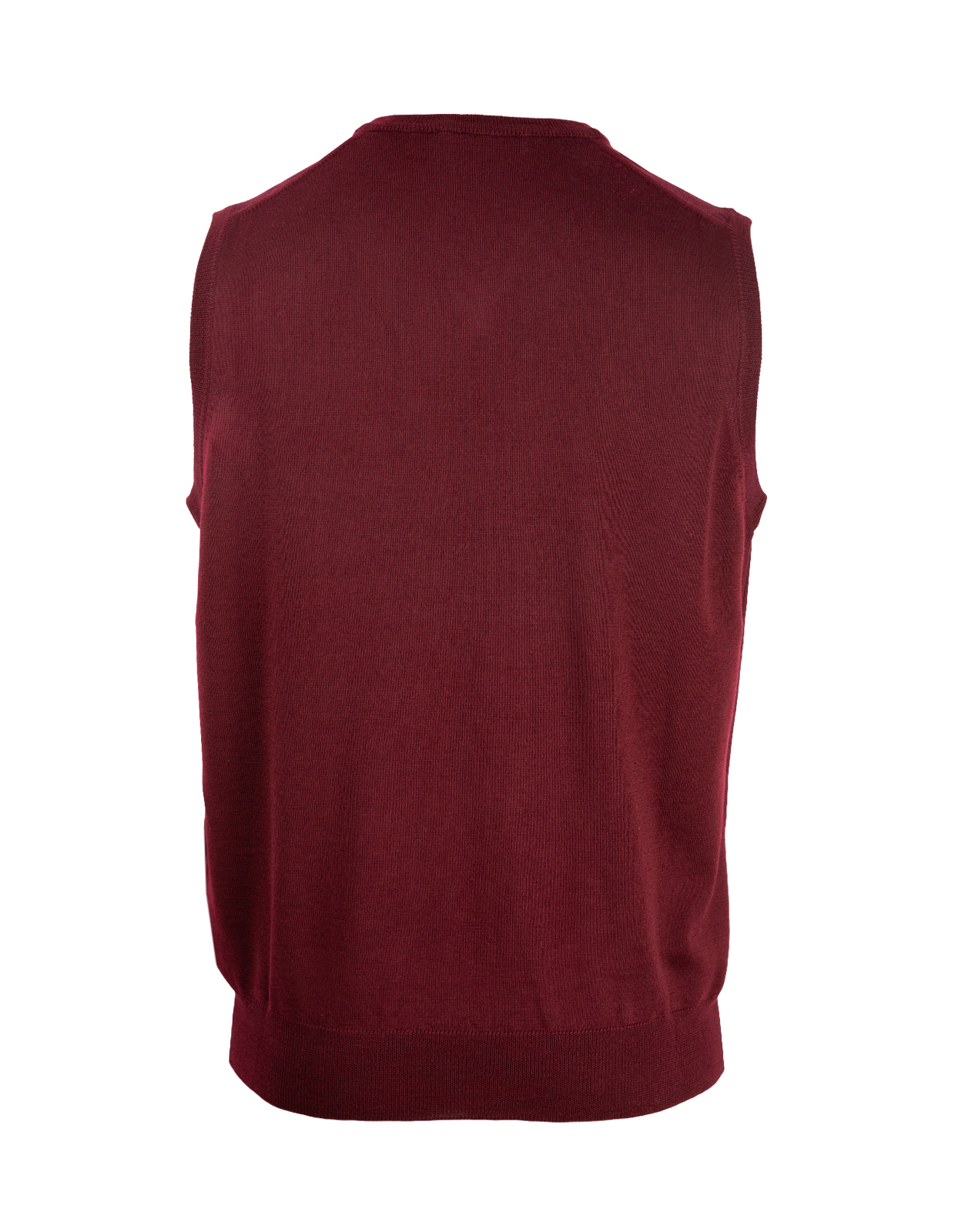 Slipover Merino Bordeaux