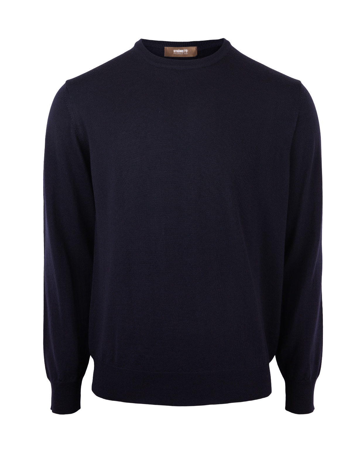 Crew Neck Merino Navy