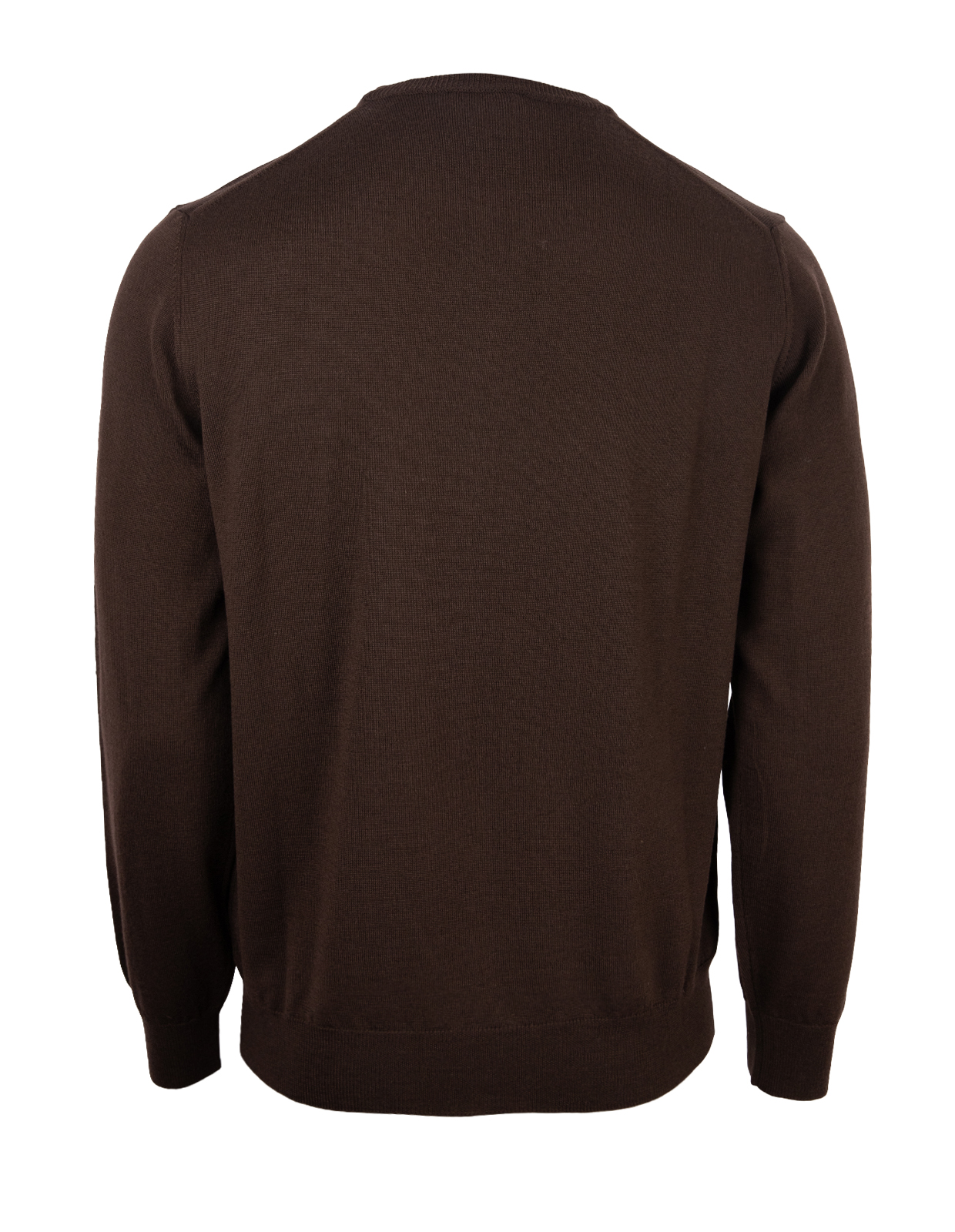 Crew Neck Tröja Merino Chocolate