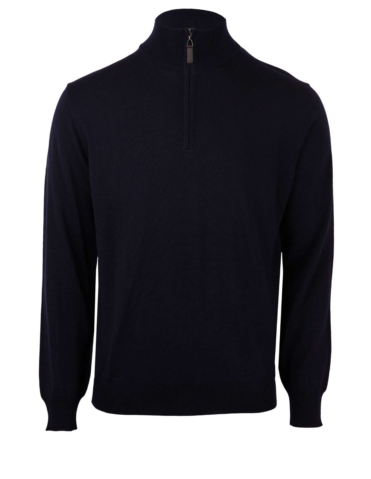 Half Zip Sweater Merino Navy