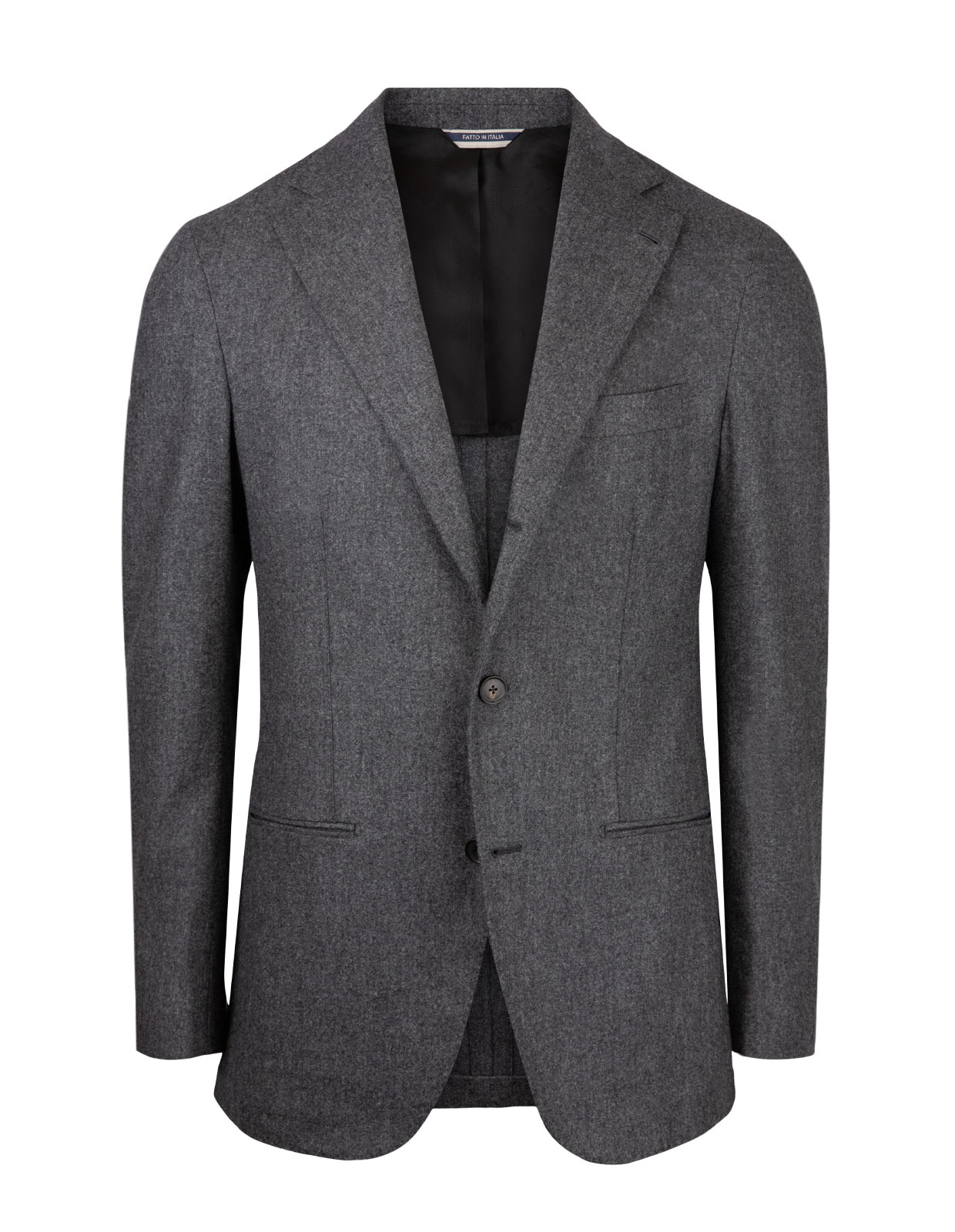 Sartorial Jacket Original Woollen Flannel Grey