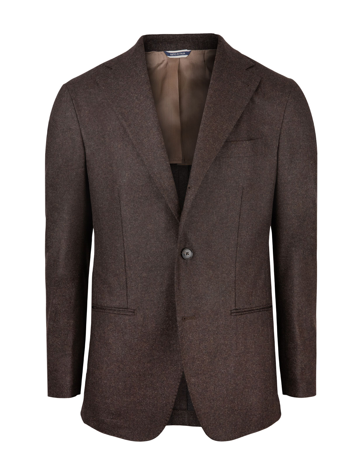 Sartorial Jacket Original Woollen Flannel Brown
