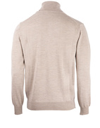 Roll Neck Merino Sand Stl XL