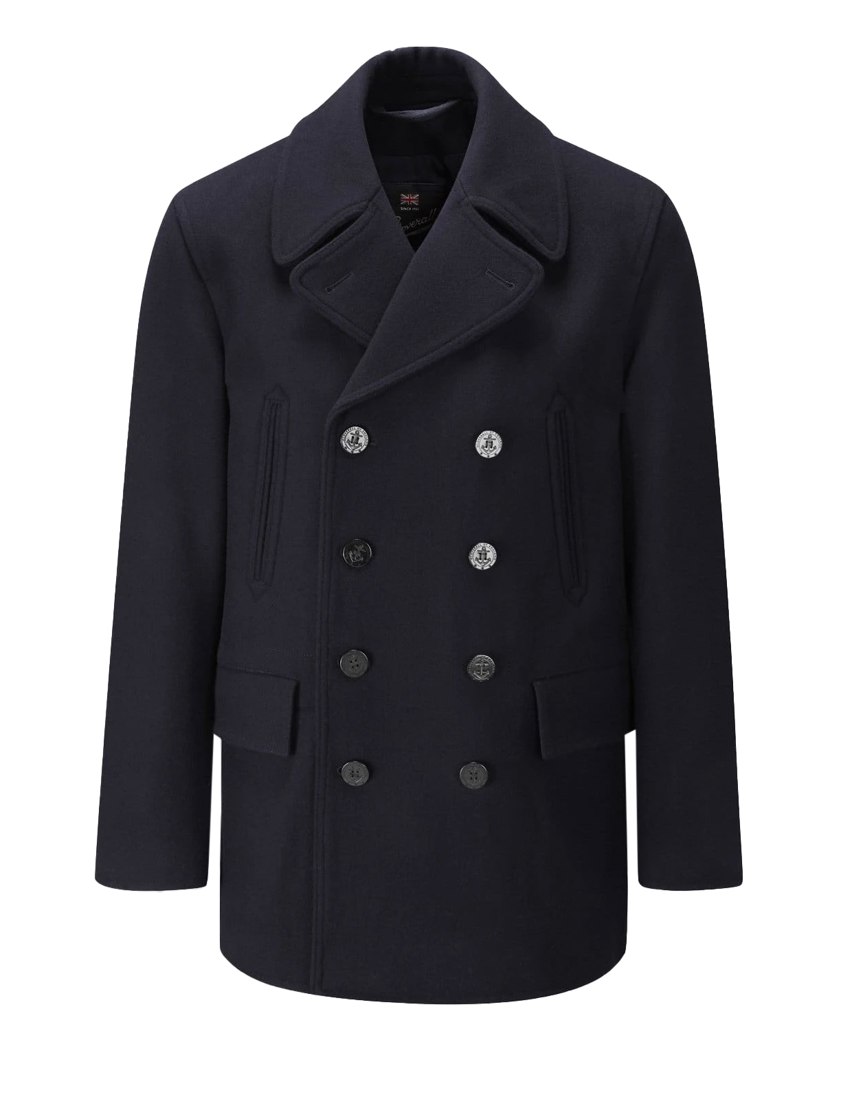 Churchill Peacoat Navy