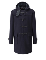 Morris Duffle Coat Navy Blackwatch