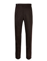 Sartorial Trouser Original Woollen Flannel Brown