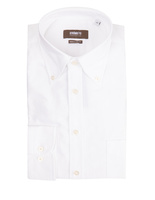 Regular Fit Button Down Oxford Shirt White
