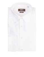 Slim Fit Button Down Oxford Shirt White
