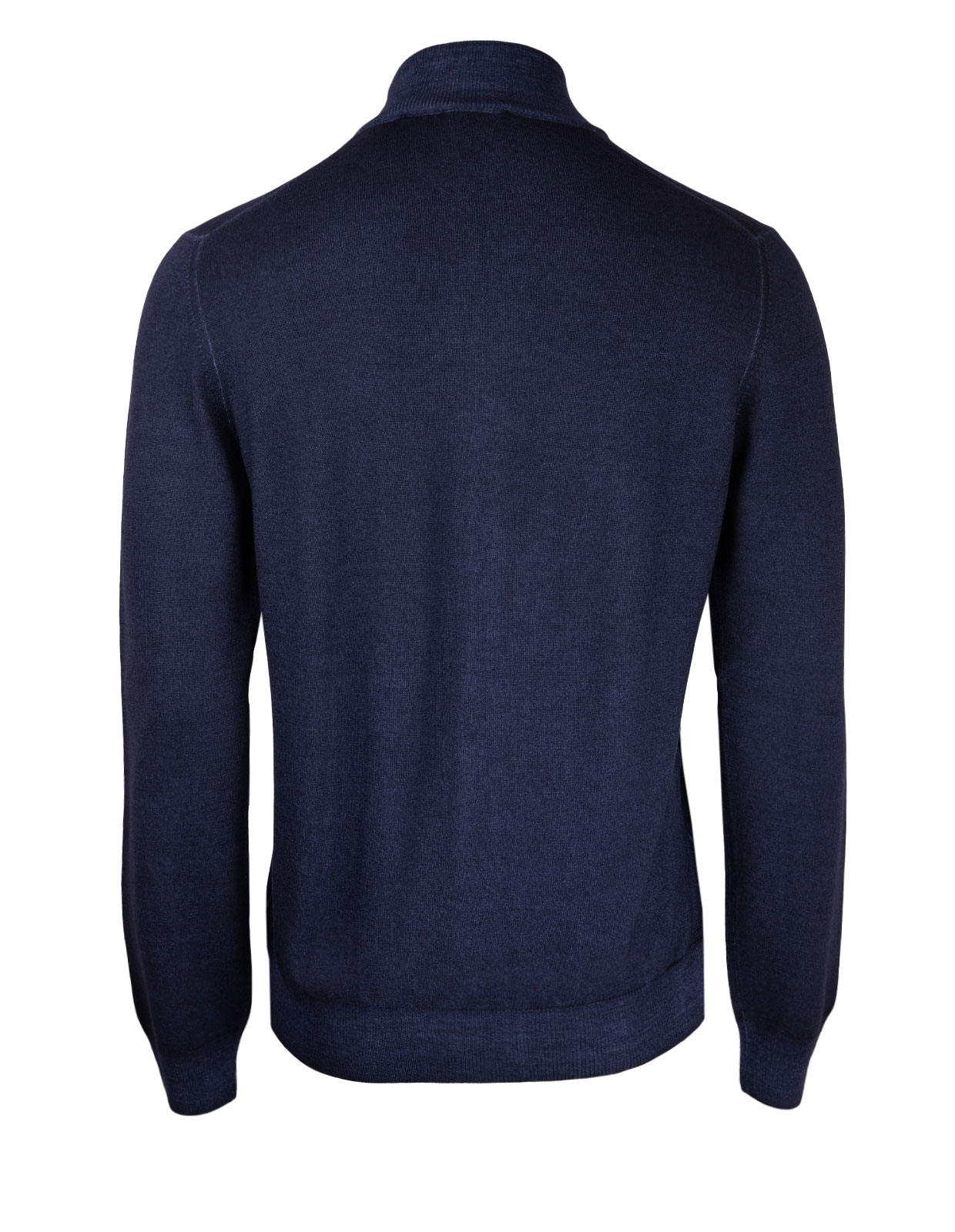 Full Zip Vintage Merino Navy