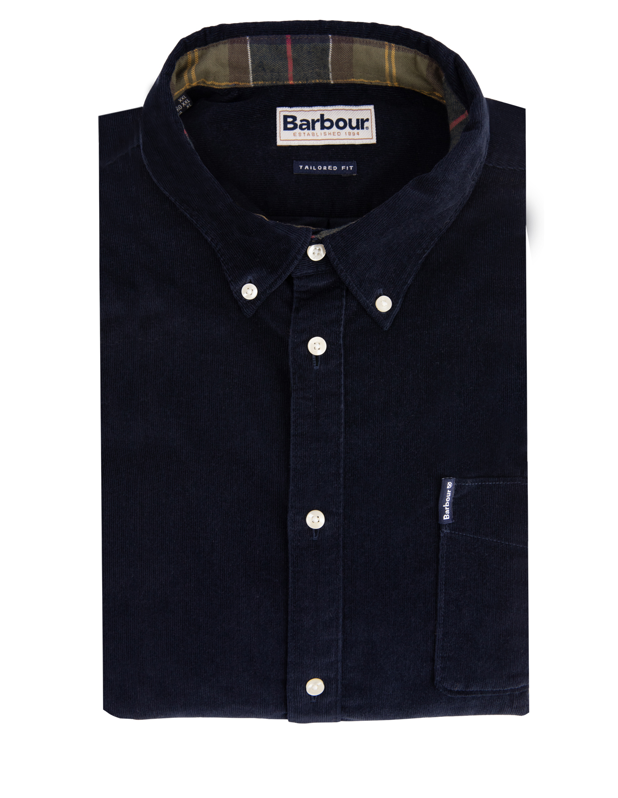 Cord 2 Tailored Shirt NYNavy