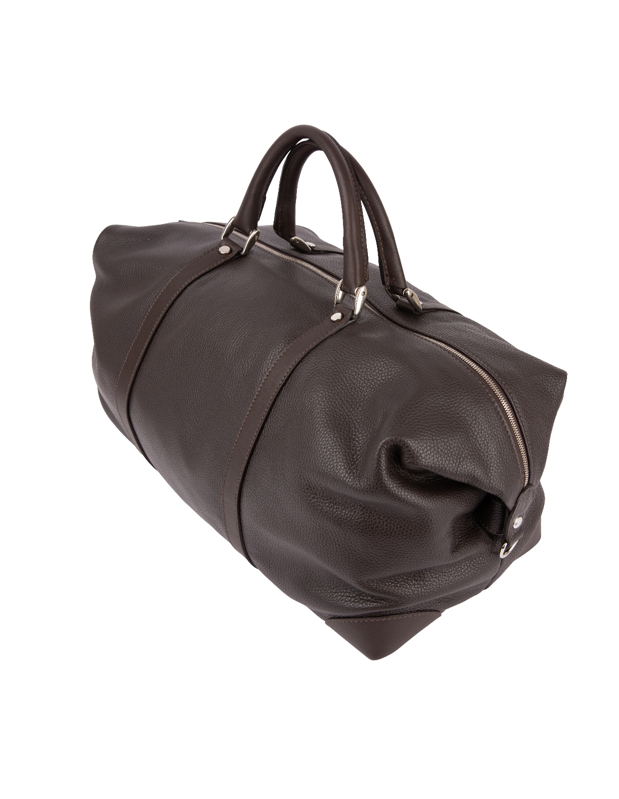 Weekend Bag Bottalato Leather DarkBrown
