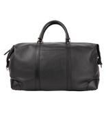 Weekend Bag Bottalato Leather Black