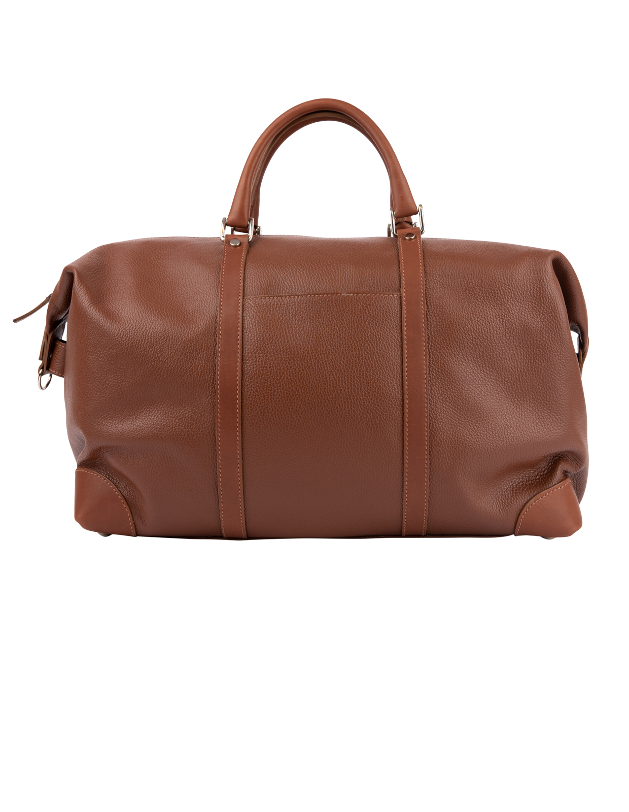 Weekend Bag Bottalato Leather Tabacco